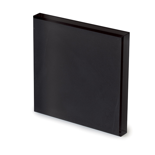 Frosted black glass -elenco