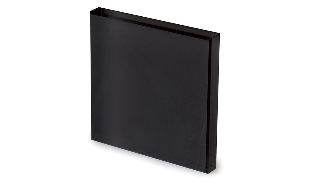 Vetro acidato nero -dettaglio