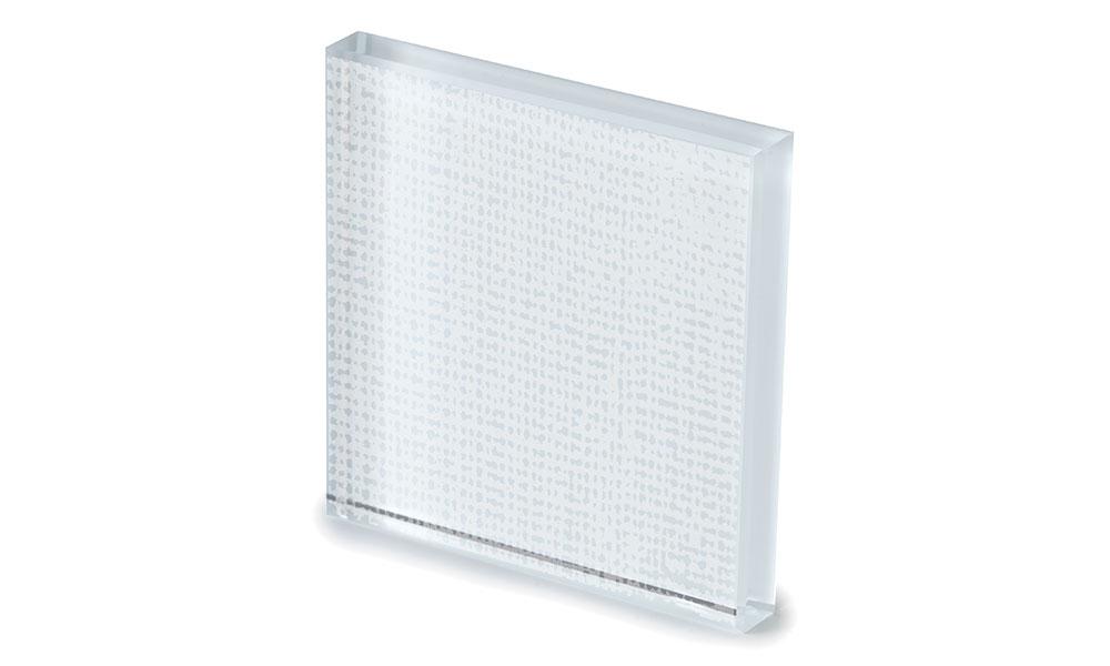 Net glass laccato bianco -dettaglio