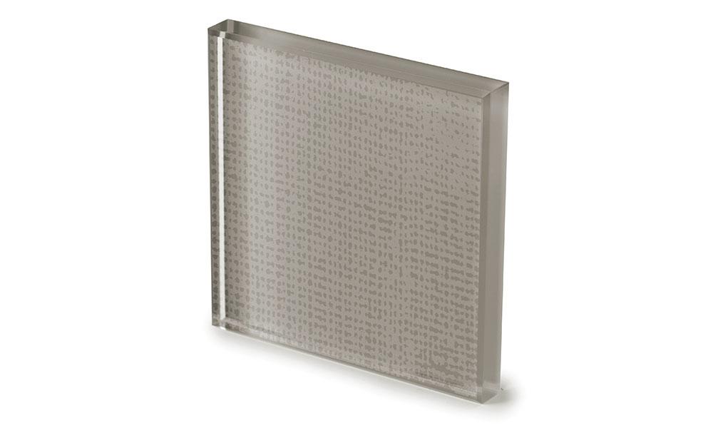 Net glass laccato creta -dettaglio