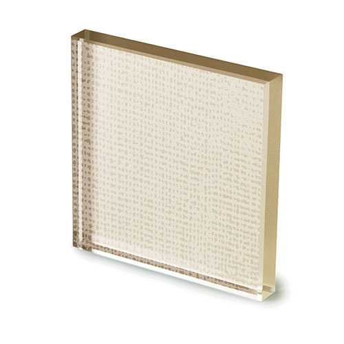 Net glass laccato champagne