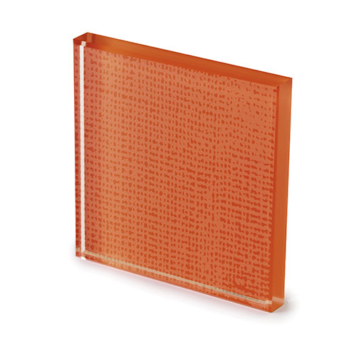 Net glass lacquered rust -elenco
