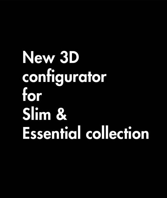 NEW 3D CONFIGURATOR