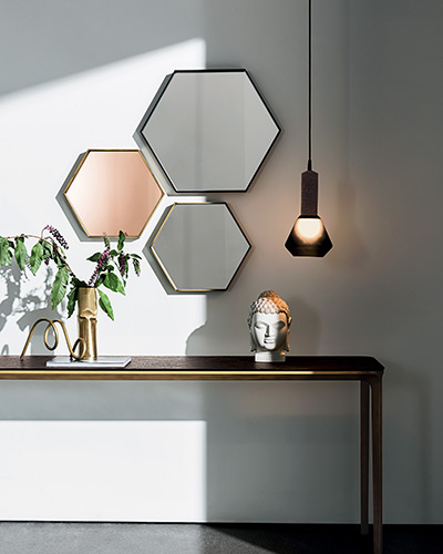 Specchi - VISUAL HEXAGONAL