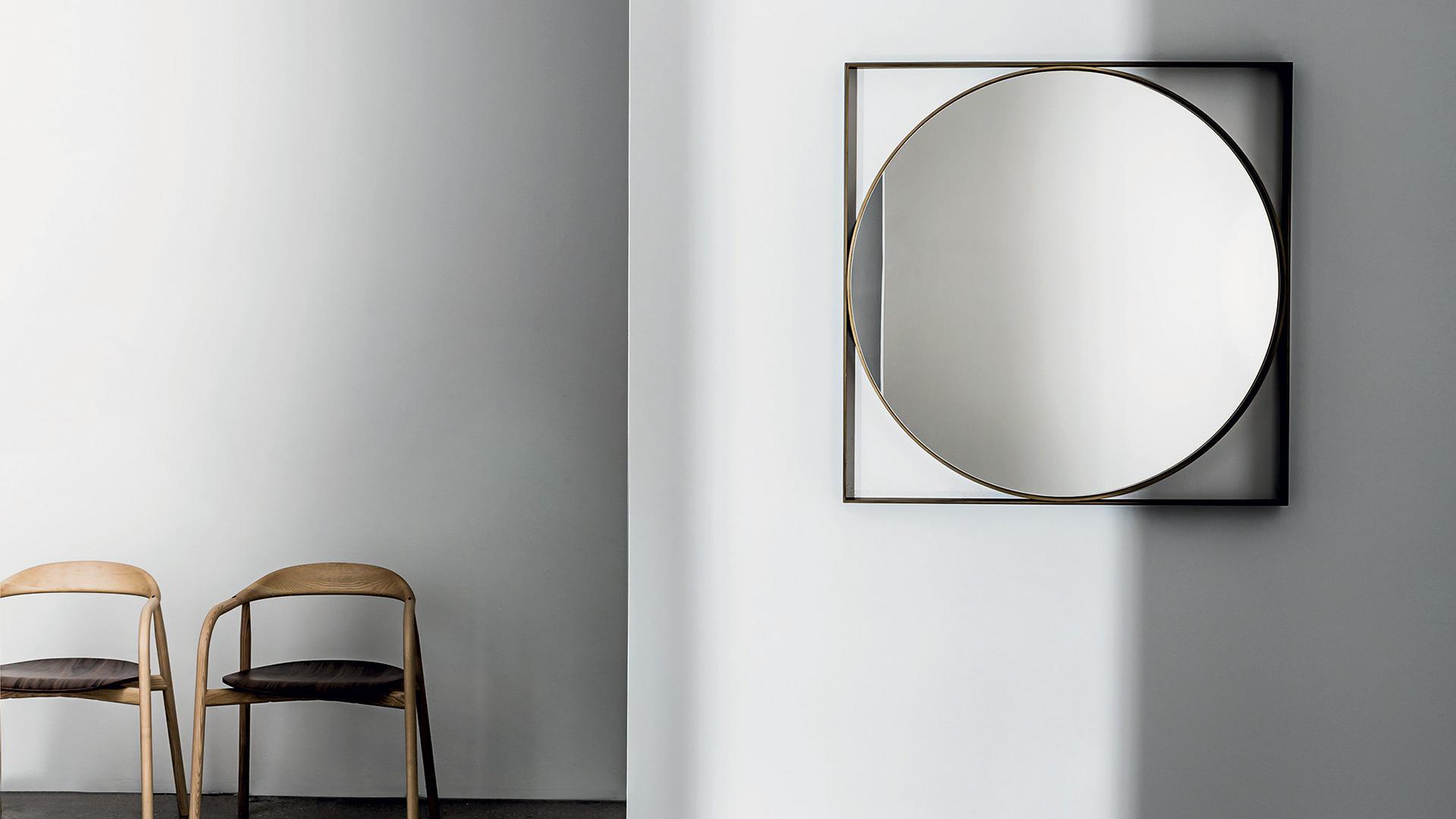 VISUAL | Specchio da Parete Design Quadrato - SOVET
